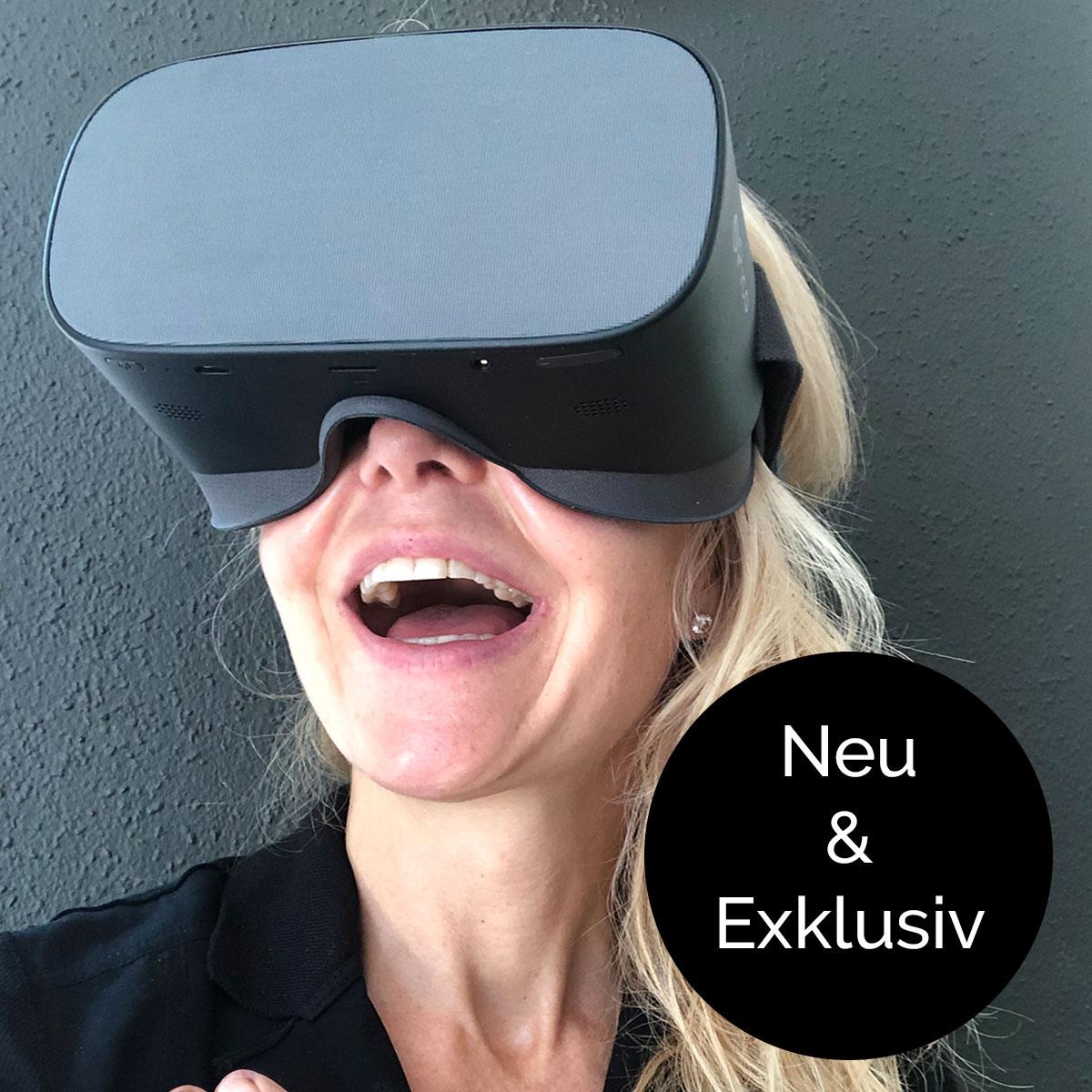 Präsentationstrainig mit der VR Brille